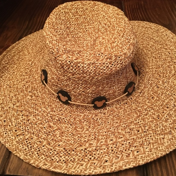 3a66c8ae3c74 Disney Accessories   Mickey Mouse Straw Hat From Parks   Poshmark